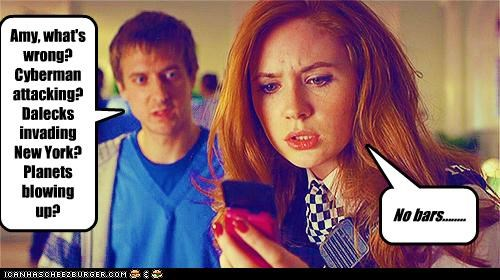 amy pond,bars,cybermen,daleks,doctor who,karen gillan,rory williams