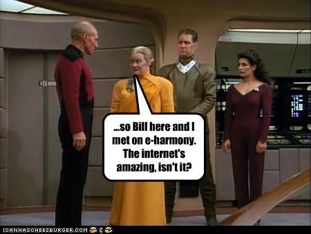 eharmony internet patrick stewart Star Trek TNG - 5408831744