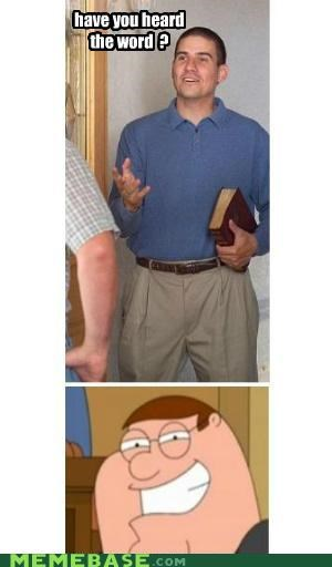 bird family guy Memes mormon Peter Griffin word - 5408876544
