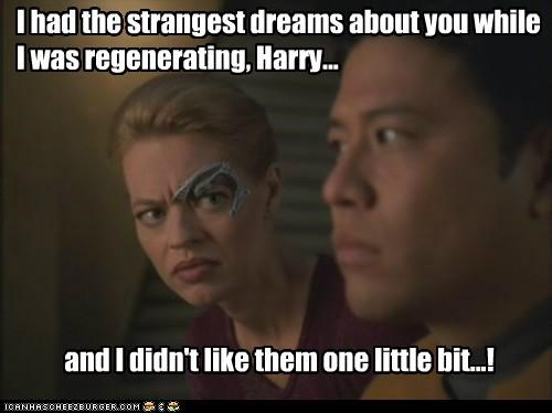 garrett wang,harry kim,jeri ryan,seven of nine,Star Trek
