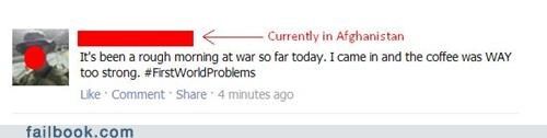 coffee firstworldproblems soldier veterans day war win - 5409065472