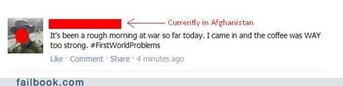 coffee firstworldproblems soldier veterans day war win - 5409065472
