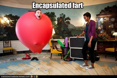 fart joke Michelle Obama political pictures