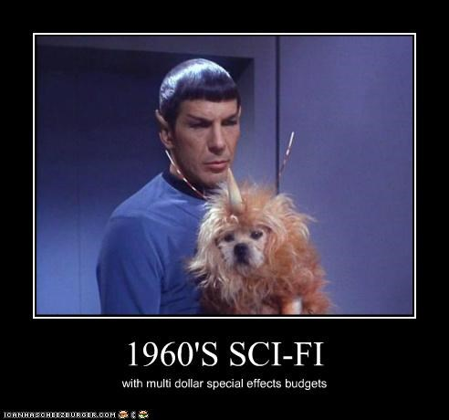 1960s,budget,dogs,dollar,Leonard Nimoy,sci fi,special effects,Star Trek