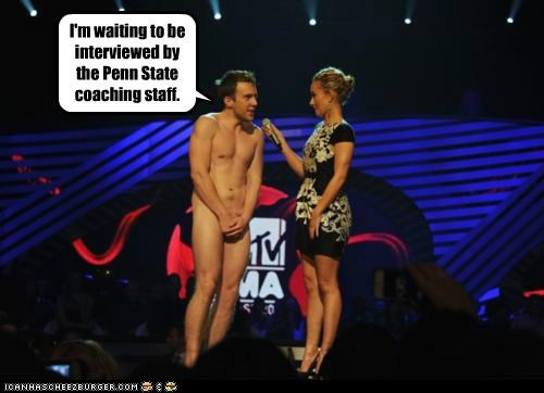 coaches controversy David Monahan Hayden Panettiere interviews nekkid news penn state - 5410284288