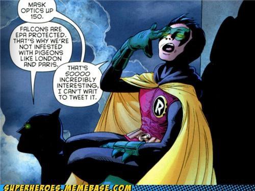 batman robin Straight off the Page trivia falcons - 5410296064