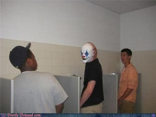 clowns terrifying urinals why God - 5410374656