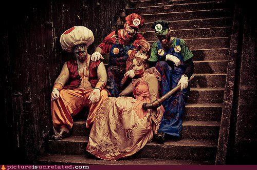 luigi,mario,princess peach,toad,wtf