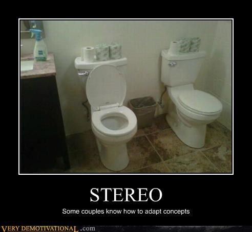 bad idea concepts good idea hilarious stereo toilets - 5410461184
