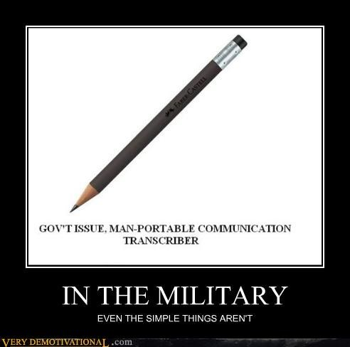 hilarious military pencil wtf