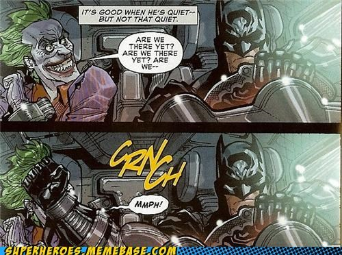 are we there yet batman joker Straight off the Page - 5410836736