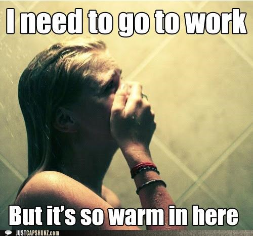 First World Problem First World Problems shower thats-a-bummer-man warm work - 5410844416