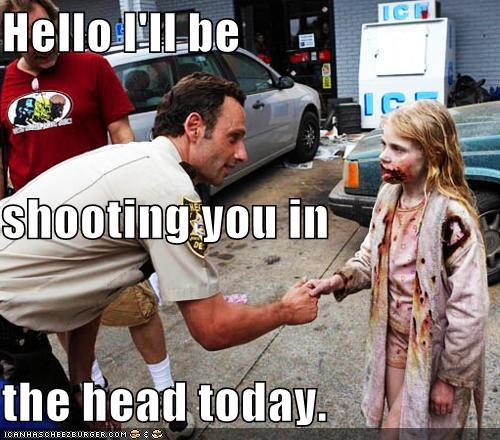 Andrew Lincoln Rick Grimes The Walking Dead zombie - 5410905600