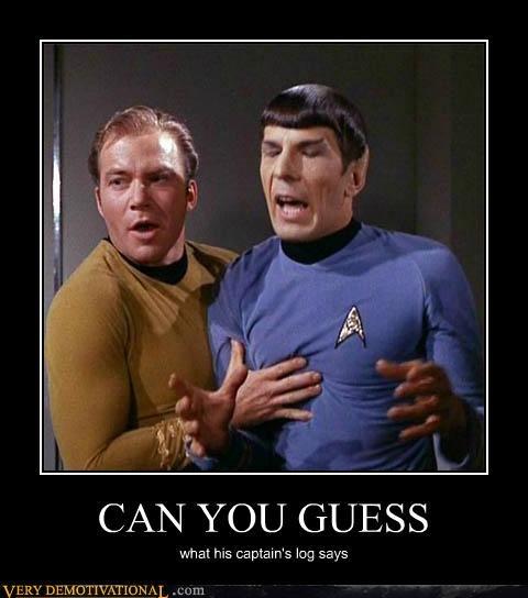 hilarious kirk sexy times Spock Star Trek - 5410935808