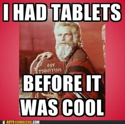 10 commandments,charlton heston,hipster,hipster moses,ipad,meme,moses,religion,tablets