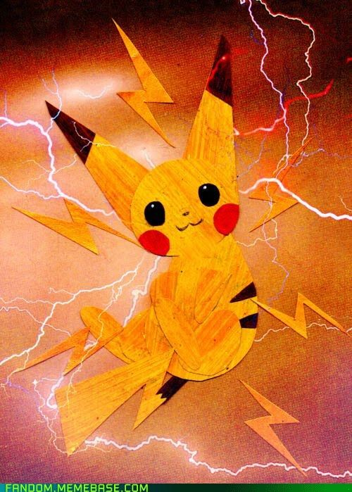 electric types Fan Art pikachu Pokémon - 5411152896
