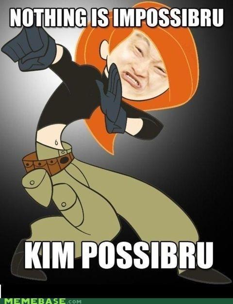 cartoons impossible impossibru Kim Possible Memes - 5411208448
