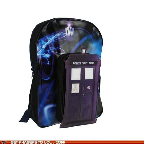 backpack doctor who style tardis the doctor - 5411248640