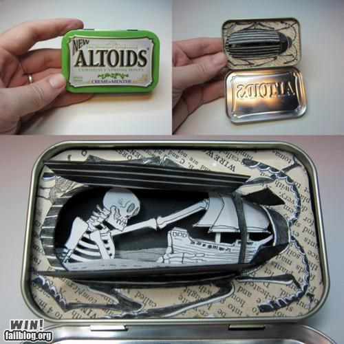 altoid art craft diorama mint tin tiny - 5411262464