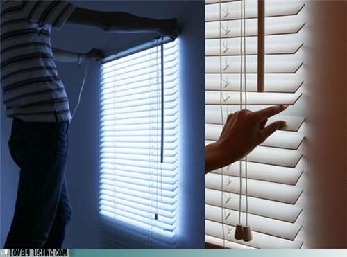 blinds fake illusion light window - 5411312896