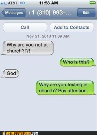 carousel church god religion Trolling Wrong Numbers wrong number