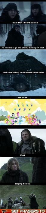 Eddard Stark,friendship,Game of Thrones,my little pony,sean bean,Winter Is Coming