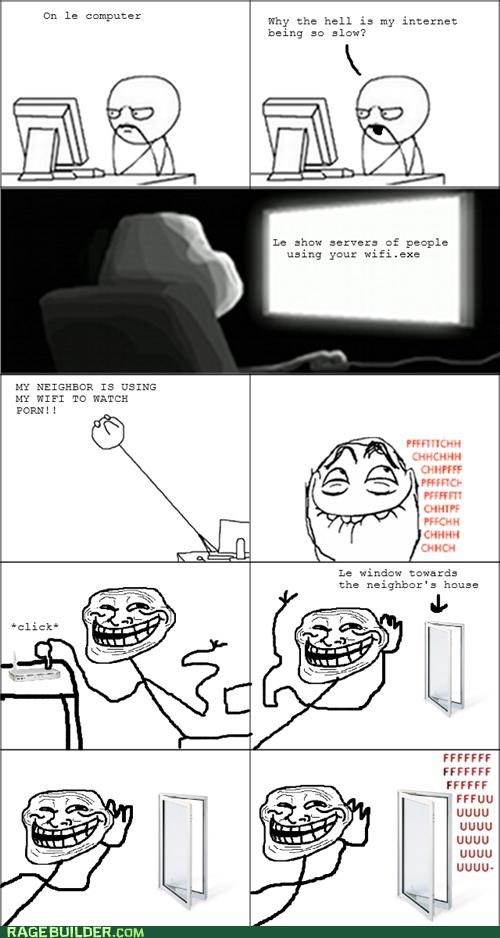 best of week internet neighbor Rage Comics wifi - 5411570432