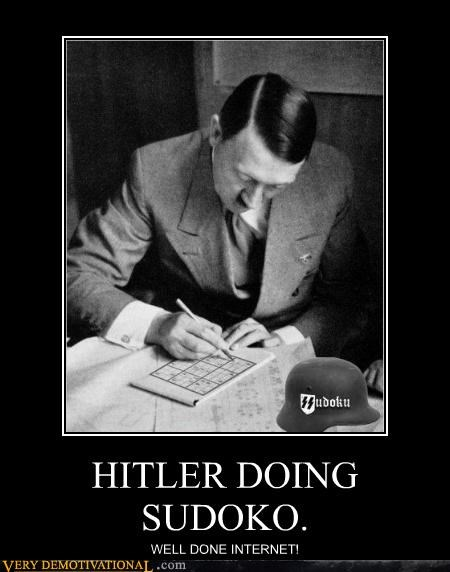 hilarious,hitler,internet,sudoku,well done