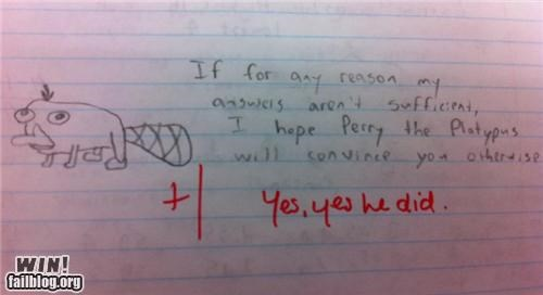 answer cartoons doodle education paper response school test - 5411654400