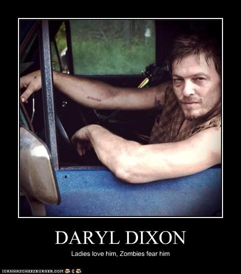 daryl dixon,ladies,norman reedus,The Walking Dead,zombie