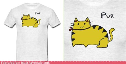 cat kitty yello purr shirt - 5411798016