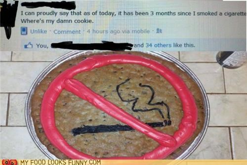 cookies facebook logo milestone post smoking status