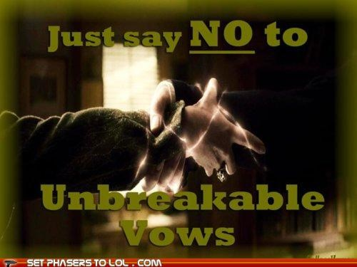 Harry Potter,Hogwarts,magic,posters,psa,safety,unbreakable