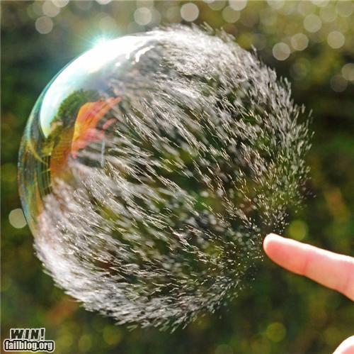 bubble nature photography quick soap - 5411876352