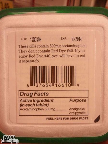artificial clever dye food label nutritional information - 5412215808