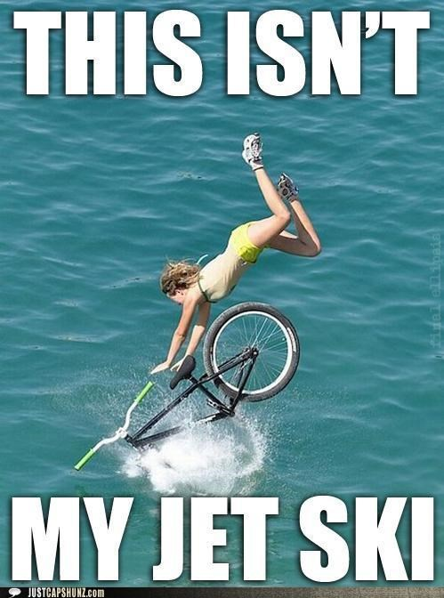 bike jet ski oops this-isnt-my this-isnt-my-jet-ski water wtf youre-stupid