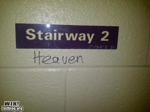 graffiti hacked irl hall led zeppelin Music stairway tag - 5412556032