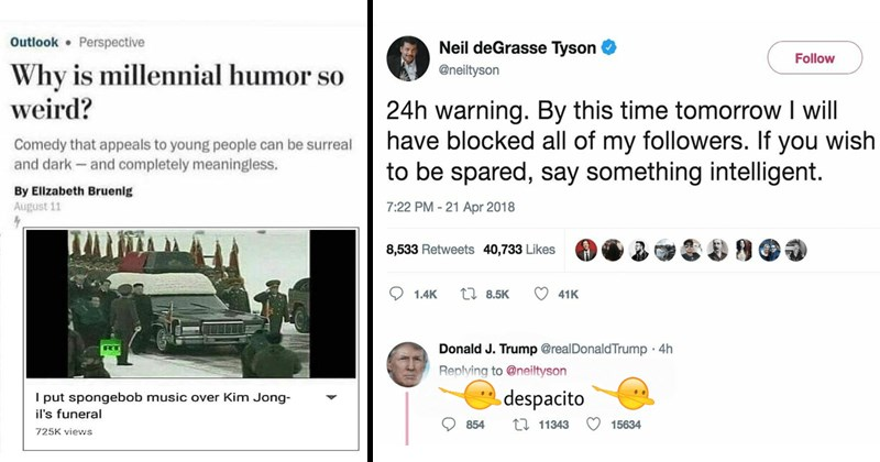 Funny memes, dank memes, funny dank memes, funny, shrek, neil degrasse tyson, twitter, donald trump, north korea, dj khaled, april, verne troyer, youtube, love, millennials, humor, rick and morty.
