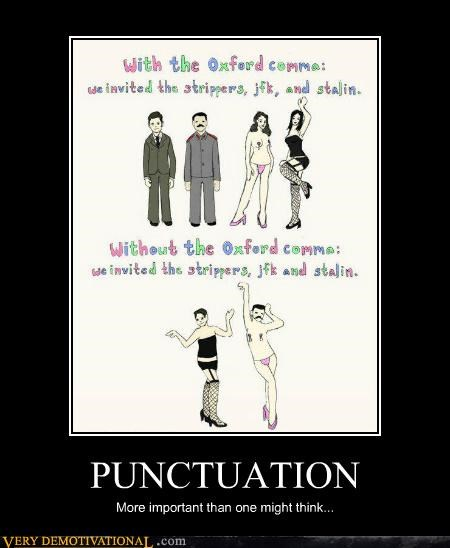 comma grammar Hall of Fame hilarious oxford punctuation - 5413182976