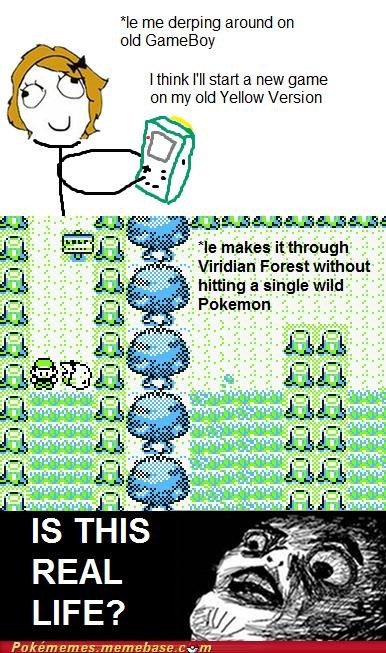 gameplay is this real life pokemon yellow repels viridian forest wild pokemon - 5413419008
