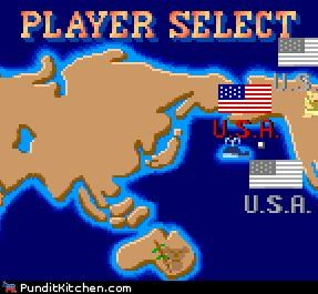 barack obama capcom election 2012 geek Hall of Fame herman cain Michele Bachmann Mitt Romney newt gingrich political pictures Rick Perry Ron Paul Street fighter video games - 5413764864