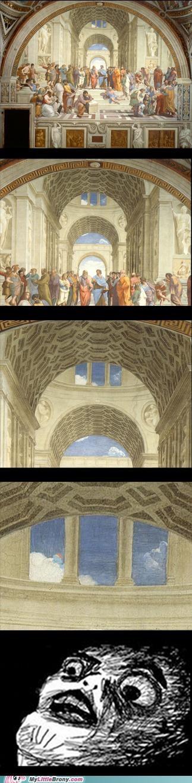 art Bronies painting rainbow dash renaissance - 5413878272