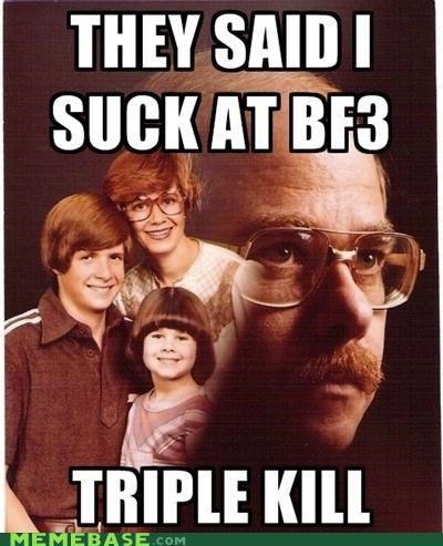 bf3 call of duty family kill PTSD Clarinet Kid triple video games - 5414060800