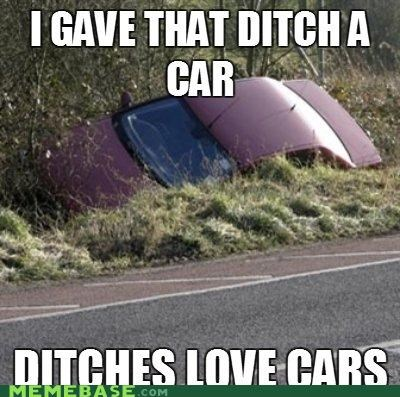 car,chevy sonic,ditch,Ladies Love,stars,yaris