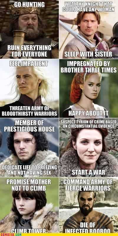 books Game of Thrones hbo idiots Memes thrones - 5414198528