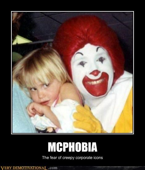 McDonald's phobia Ronald Terrifying - 5414775552