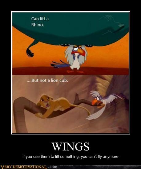 birds bones hilarious lion king wings - 5414917120