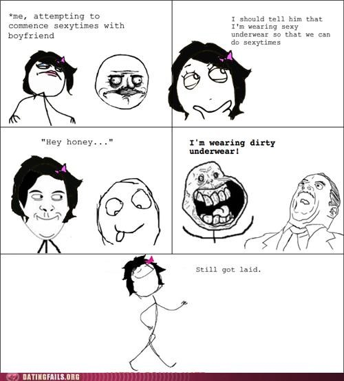 comic dirty rage comic sexy underwear We Are Dating - 5414990592