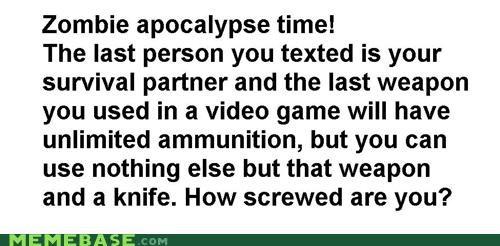 ammo best of week knife Memes object weapon zombie - 5415012608