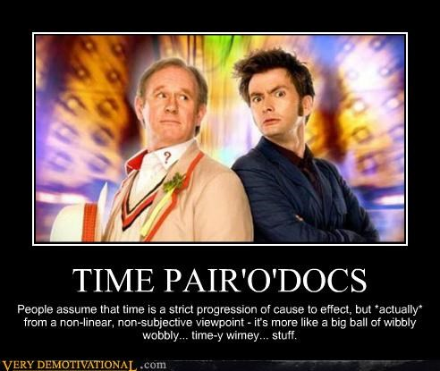 doctor who hilarious paradox time - 5415153408